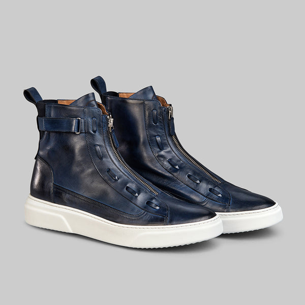 PHANTOM MIDNIGHT BLUE HIGH TOP SNEAKER