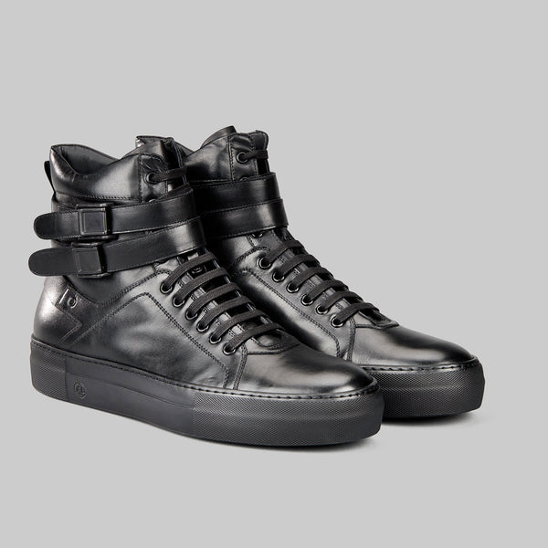 Boxer high top sneaker boot