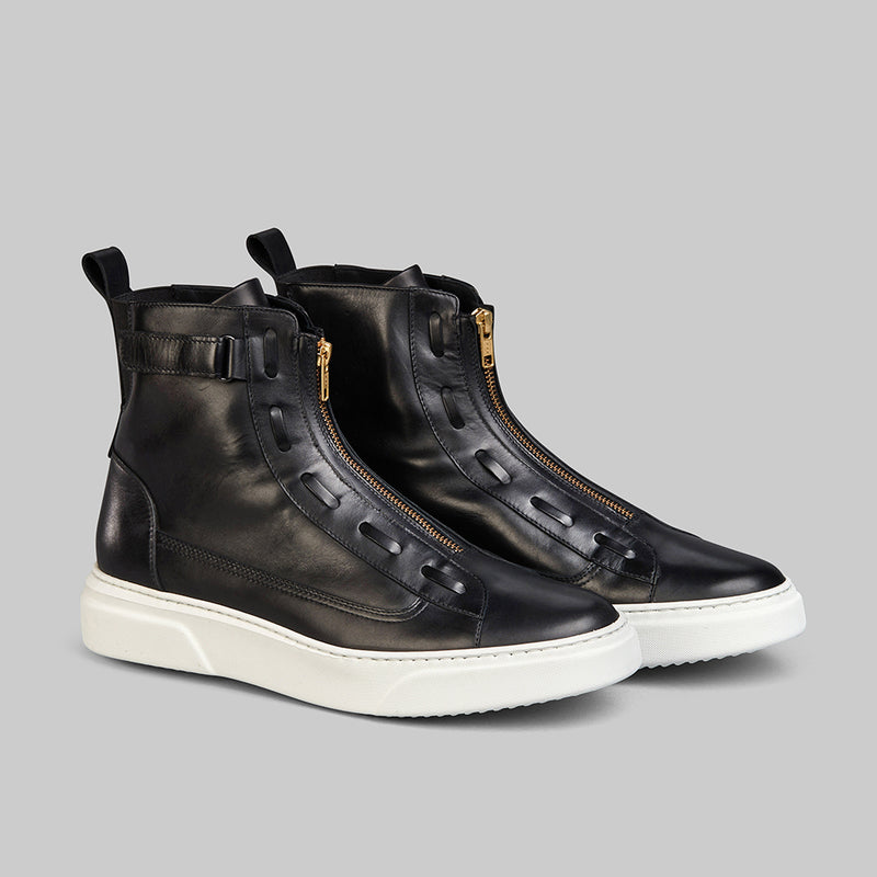 PHANTOM BLACK HIGH TOP SNEAKER