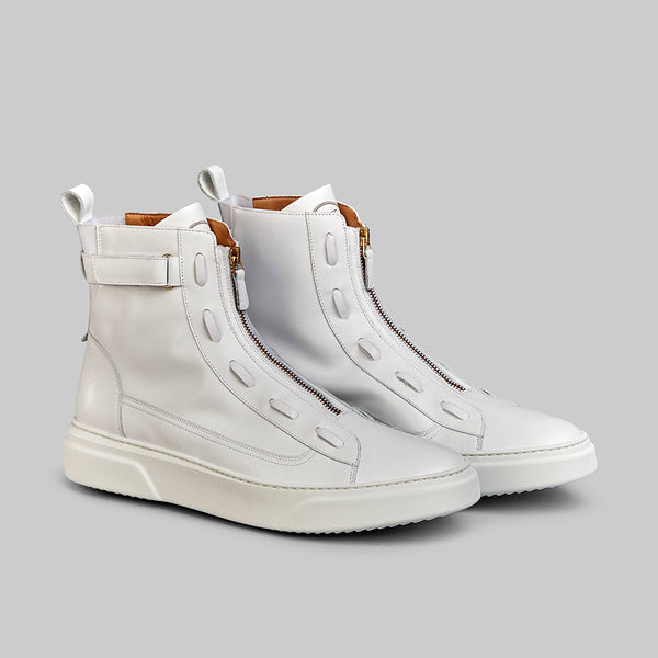 PHANTOM WHITE HIGH TOP SNEAKER