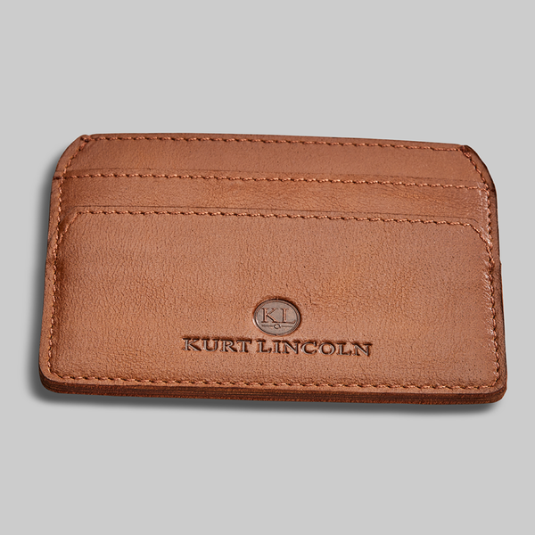 TAN CALF LEATHER CARDHOLDER - official website - shoes and accessories