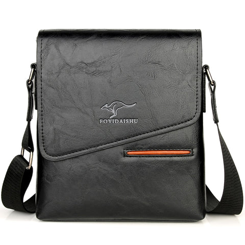 Kangaroo Brand Messenger Leather Bag