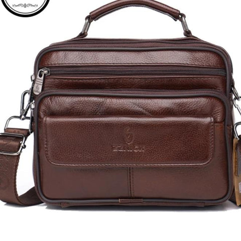 Men's Genuine Leather Luxury Shoulder Bags
