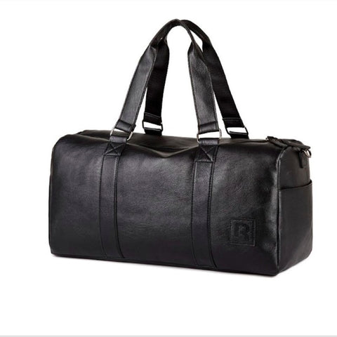 Travel Bag in Black. Use as durable Gym Bag too.