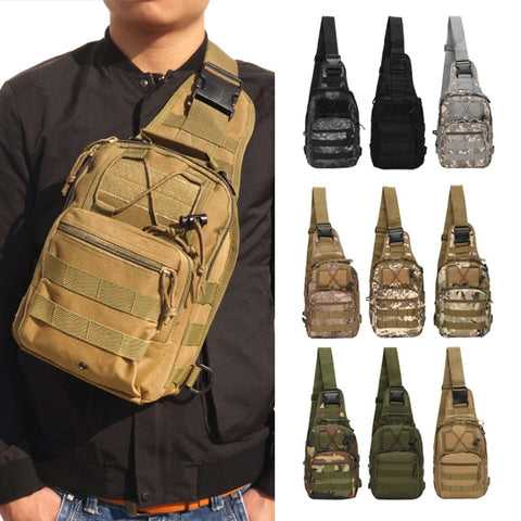 Outdoor Military Style Crossbody pack