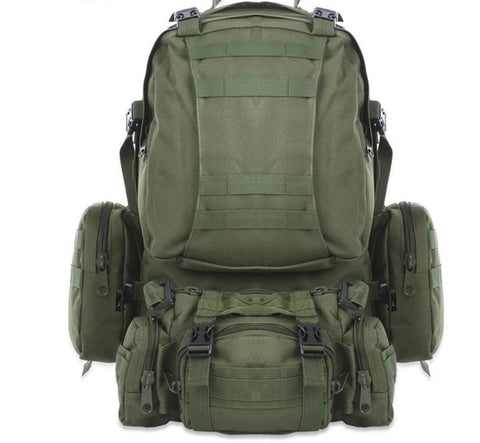 50L Outdoor Molle Military Tactical  Rucksack