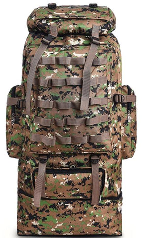 100L Large Capacity Outdoor Tactical  Military Backpack