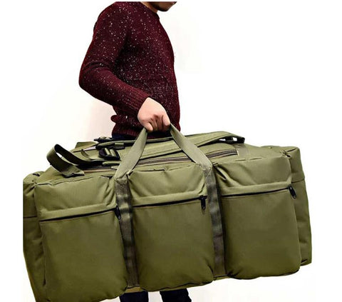 90L Outdoor Camouflage Duffle Bag.