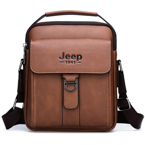JEEP Men's Vintage Shoulder Bag