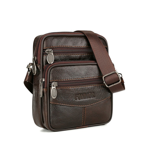 Vintage Genuine Leather Bags for Man