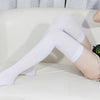 Casual Cotton Thigh High Over Knee Acrylic High Socks Girls Womens Female Long Knee Sock