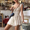 Casual Strap Mini Dress Women Solid Color Sleeveless Party Dresses Women Holiday Beach Short Dress