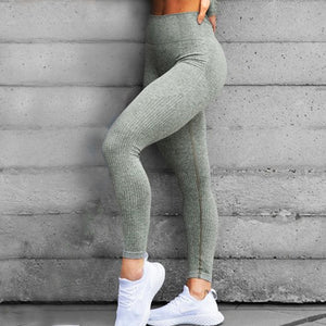 Woman Fitness Yoga Pants Sexy Push Up Gym Sport Leggings Slim Stretch Running Tights