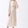 Fashion Women White Dress New Arrival Chiffon Chic Long Dress for Lady Modern Elegant Party Vestidos