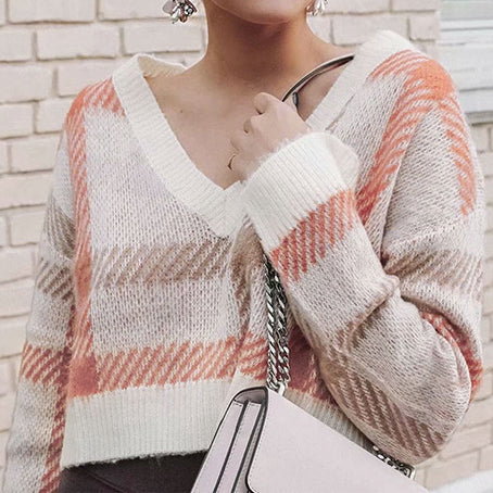 Oversize Women Sweaters Jumper Korean Knitted Sweater Short Casual High Fashion Ladies Harajuku Sweaters