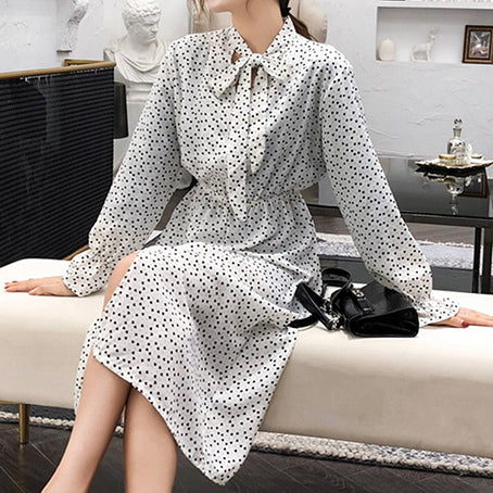Party Long Dress Women Ruffles Elegant Dresses Turtle Bow Vintage Plus Size Dress Vestidos
