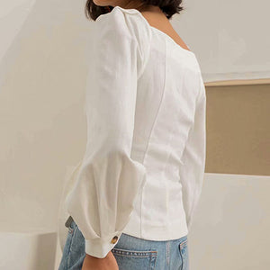Elegant Wrap Blouse Women Blouse Shirts Bow Long Sleeve Vintage Blouse Shirt Tops Blusas