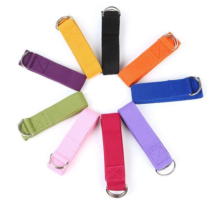 New Stretchy Rope Resistance Strap Belts Band Fitness Gym Yoga Pilates