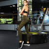 Military Style Women Yoga Pants Sports Running Sportswear Black Army Green Fitness Leggings Seamless Gym Tights Pants