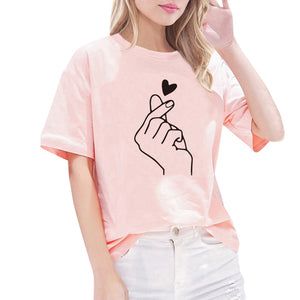 Women'S T-Shirt Feminina Ladies Graphic Women Femme Clothes