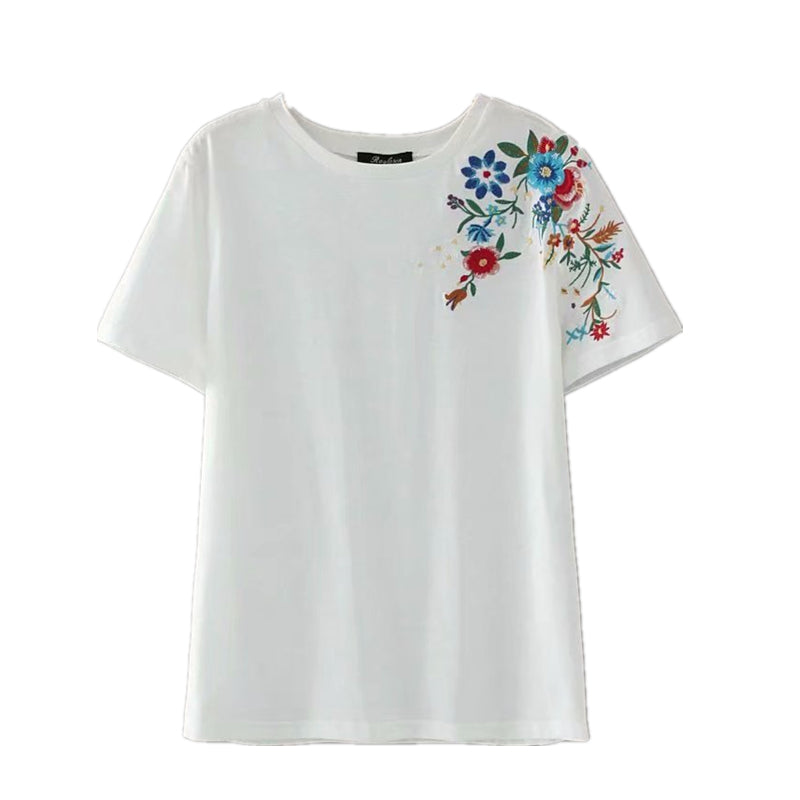 Summer Vintage Boho Chic Women Angel Print Short Sleeve T-shirt  Ladies Tops  Cotton Bohemian Tee Shirt Camiseta Feminina