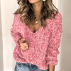 Sweater Jumper Women Knitted Casual Ladies Sweater Solid Plus Size Jumper Pullovers