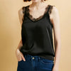 Fashion Casual Women's Laced V-neckline Sleeveless lace Camisole
