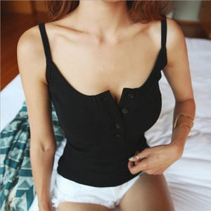 Women Fashion Sexy Summer Vest Knitting Top Ladies Sleeveless Blouse Casual Tank Tops Clothing