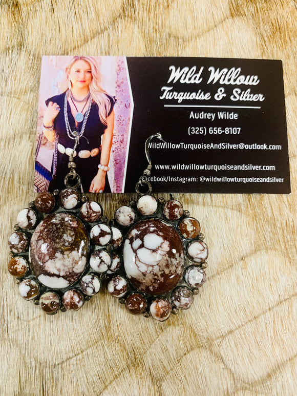 Wild Horse Cluster Earrings