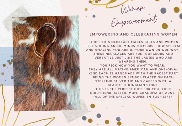 Women Empowerment Necklace Wrap