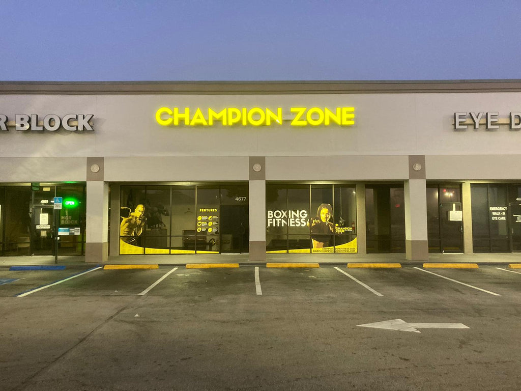 Champion Zone Fitness gym franchise opportunity