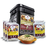 60 Serving Entrée Only Grab and Go Food Kit | Wise Company
