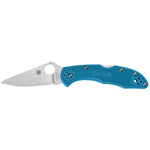 Spyderco Delica 4 Ltwt Blue Folding Knife