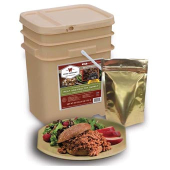 Wise Foods 60 Serving Meat Bucket