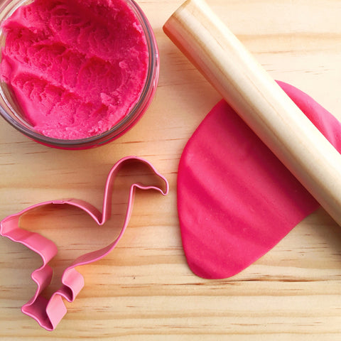 Pink Flamingo Luxuriously Soft Handmade Playdough