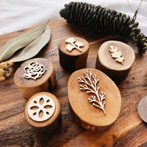 Forest Dough Stamps