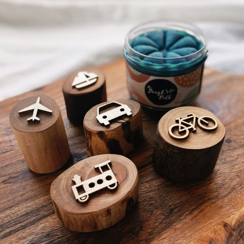 Transport Dough Stamps