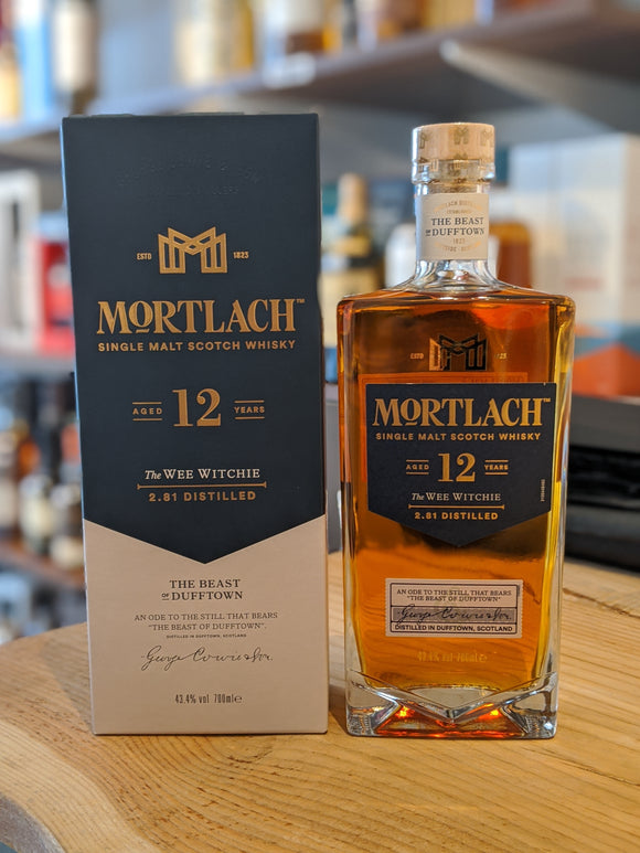 Mortlach 12 Year Old - the Wee Witchie