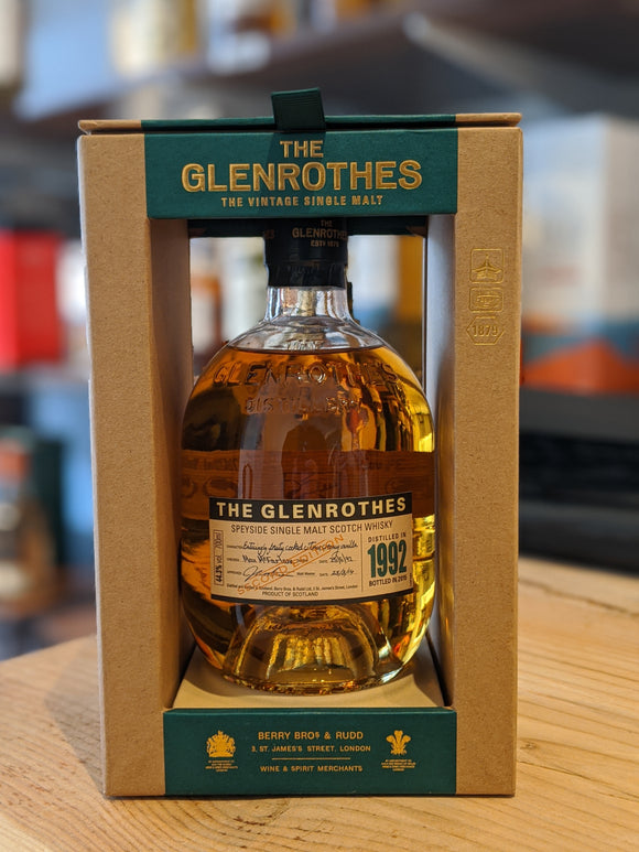 The Glenrothes 1992 – Second Edition (Bottled 2015)