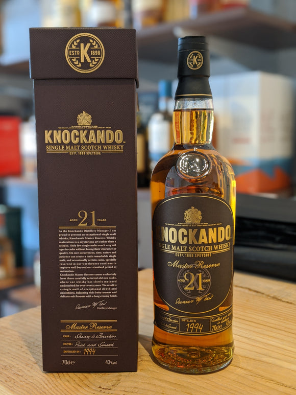 Knockando 21 Year Old Master's Reserve