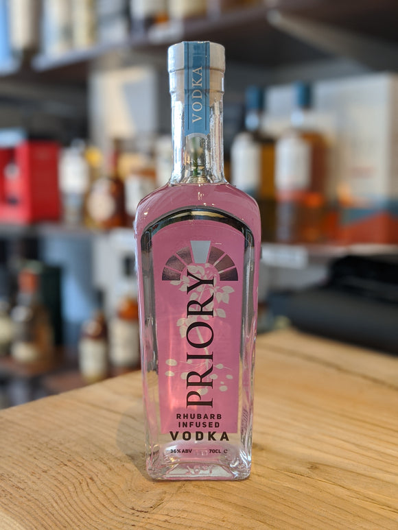 Priory Rhubarb Infused Vodka