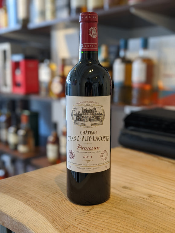 2011 Chateau Grand Puy Lacoste