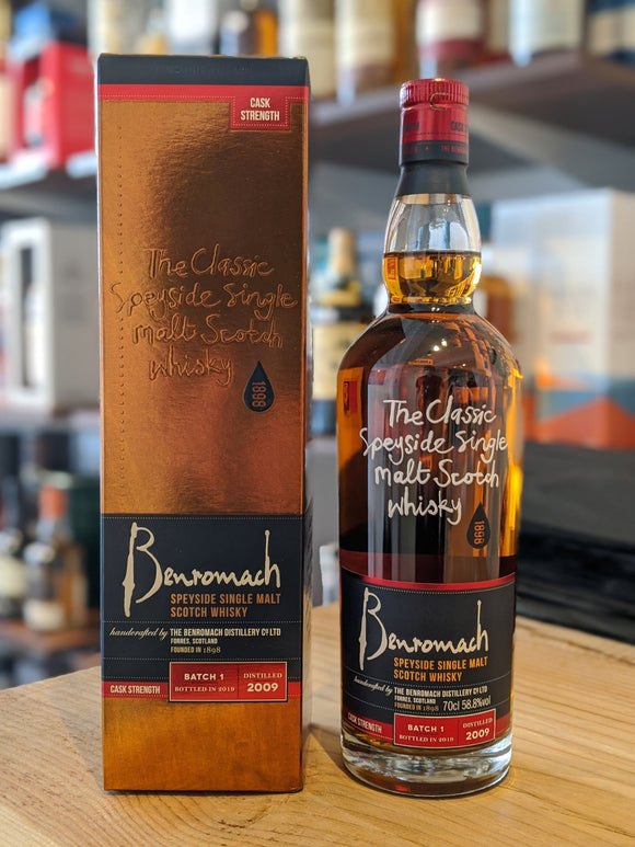 Benromach 2009 Cask Strength Batch 1