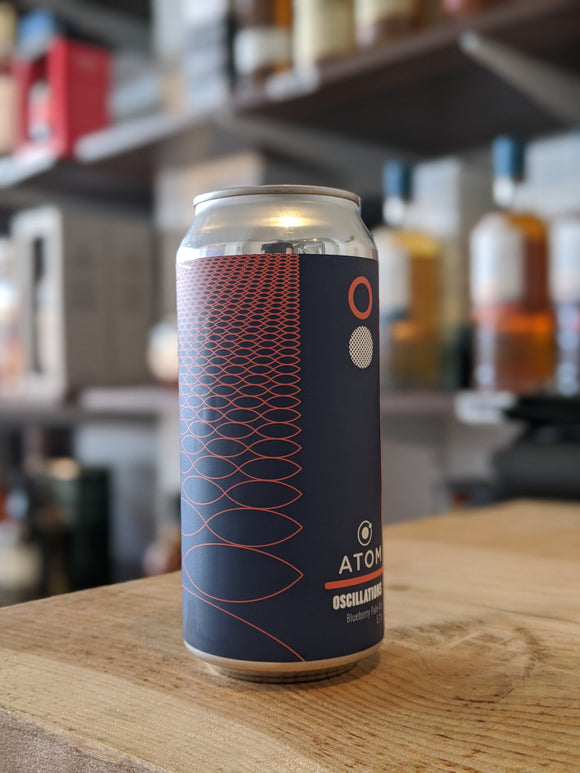 Atom Oscillations Blueberry Pale