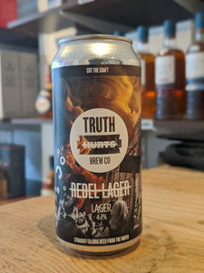 Truth Hurts Rebel Lager
