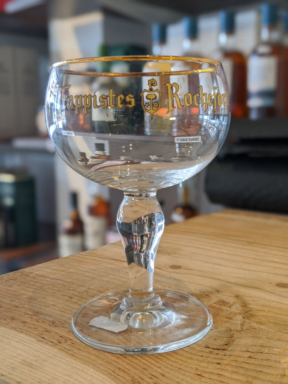 Trappistes Rochefort Glass