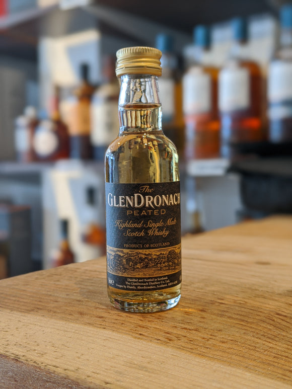 GlenDronach Peated Miniature