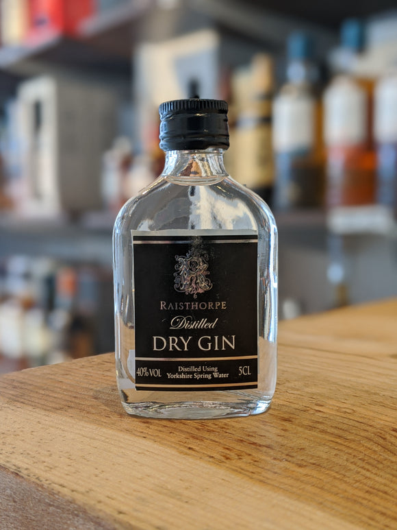 Raisthorpe Manor Distilled Dry Gin Miniature