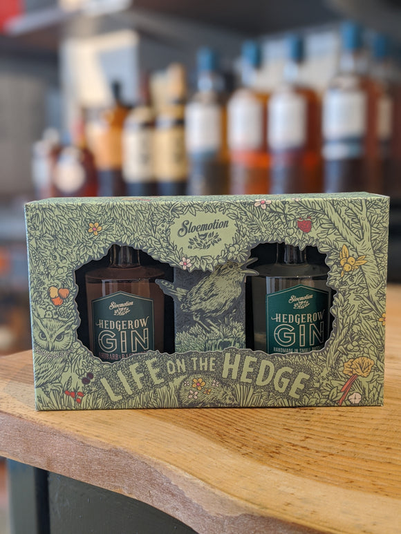 Hedgerow Gin Twin Pack