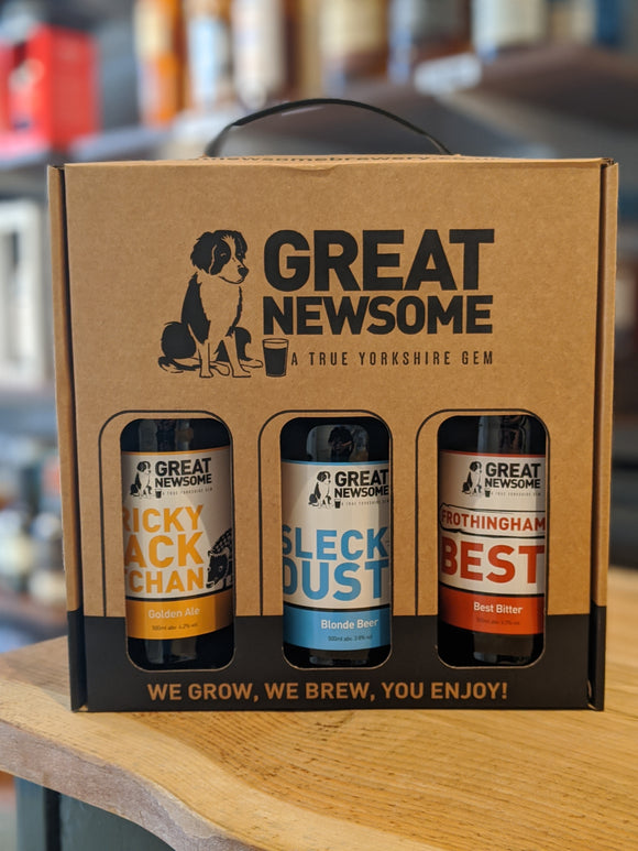 Great Newsome 3 Bottle Gift Set